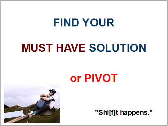 Pivot | Lean Startup in 4 Steps