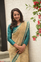 Tejaswi Madivada looks super cute in Saree at V care fund raising event COLORS ~  Exclusive 058.JPG
