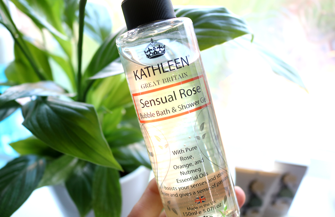 Kathleen Natural Sensual Rose Bubble Bath & Shower Gel