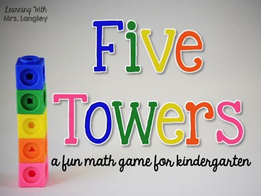 Five Towers Math Game