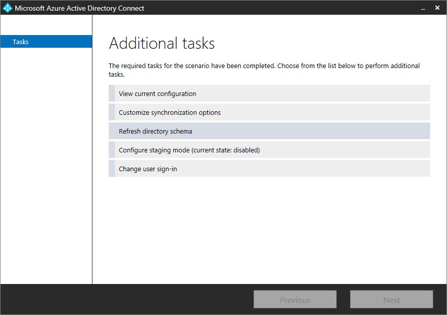 TrustSharePoint: Synchronizing Custom AD Attributes to Office 365