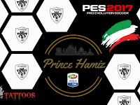 PES 2017 Mini Tattoo Pack dari Prince Hamiz
