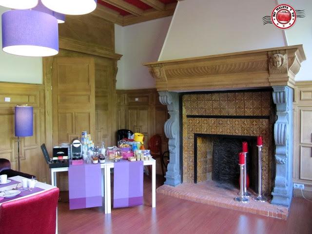 Desayuno en Casa de Huéspedes L'Esplanade a Lille