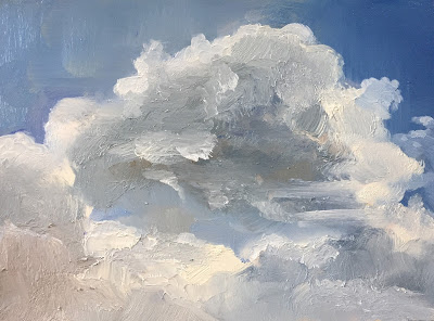 Clouds, skyscape, cloud study by Philine van der Vegte