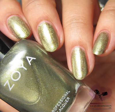 nail polish swatch of Zoya Gal from the fall 2017 Sophisticate collection