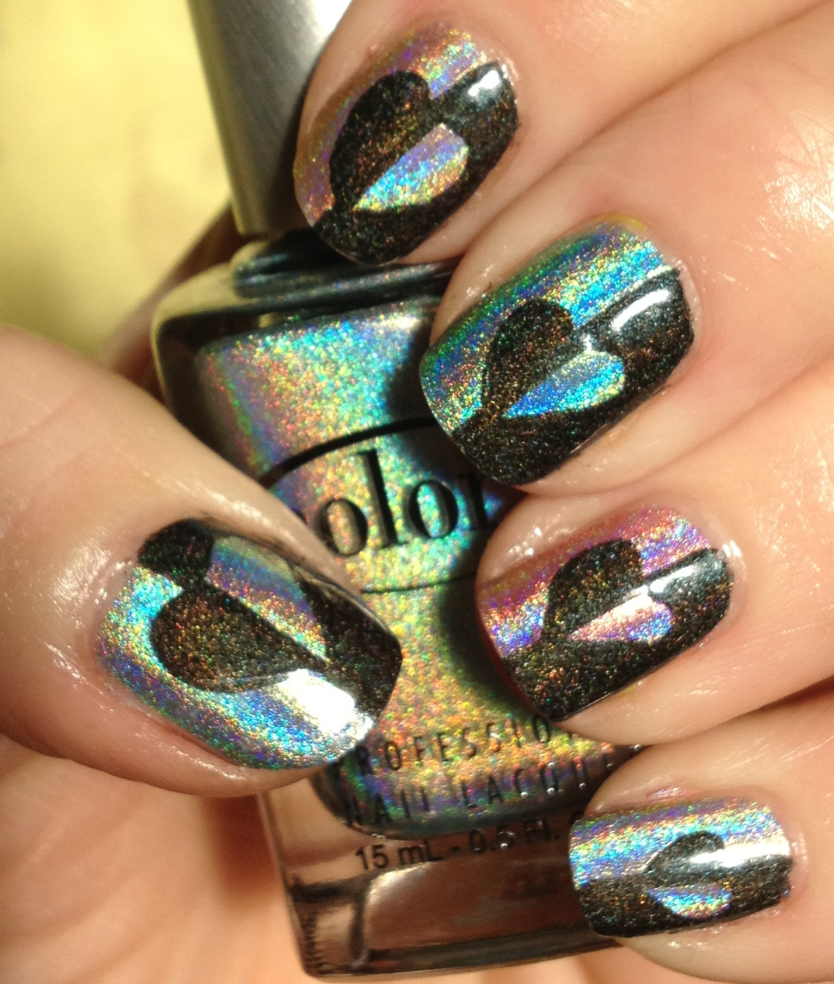Superficially Colorful: 31 Days Challenge Day 7 - Ombre Or