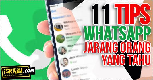 11 tips rahasia whatsapp yang jarang orang tahu_iskrim_com_