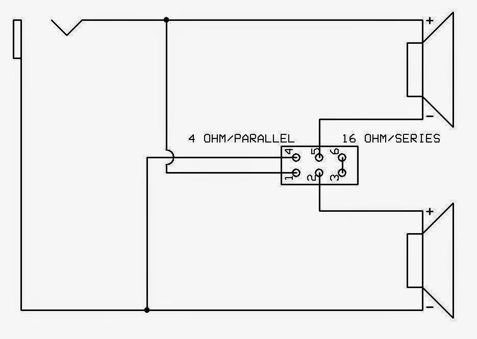 1 4 speaker jack wiring