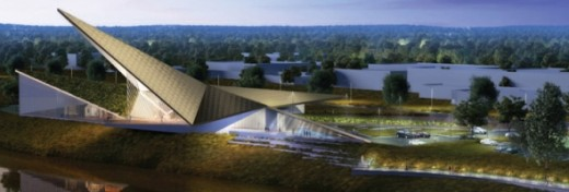 A look at what the future United States Marshals Museum will look like in Fort Smith, Arkansas.