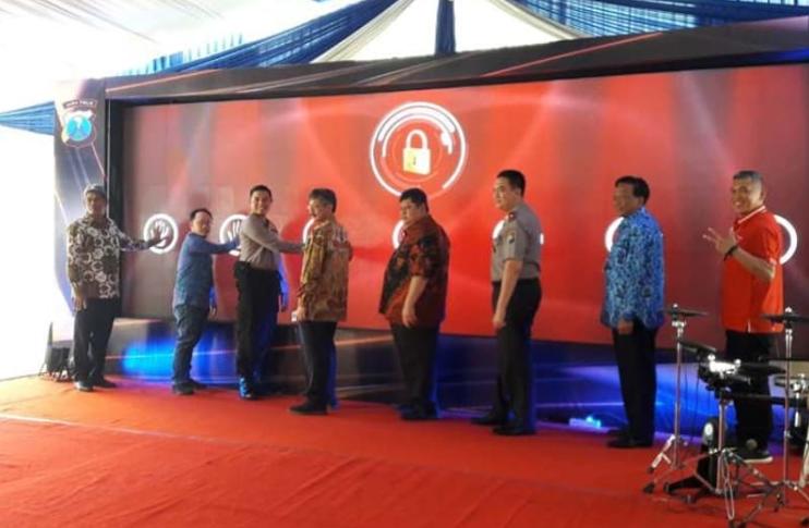 Polres Gresik Launching Program CPS, Sistem Cashless untuk Minimalisir Pungli