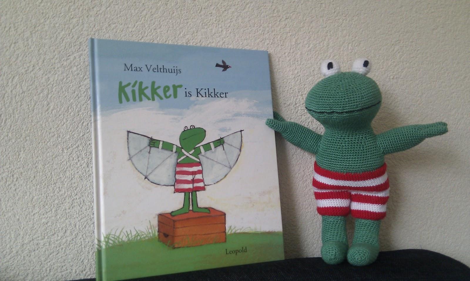 Sjorskreaties Kikker Gehaakt Max Velthuijs