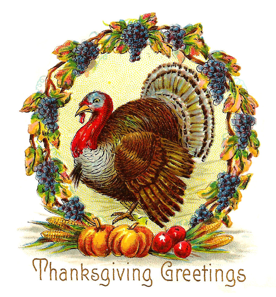 Antique Images: Free Thanksgiving Day Graphic