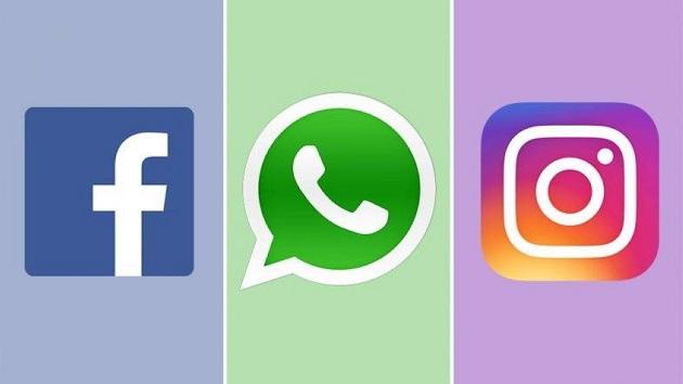 فيسبوك وواتساب وإنستغرام