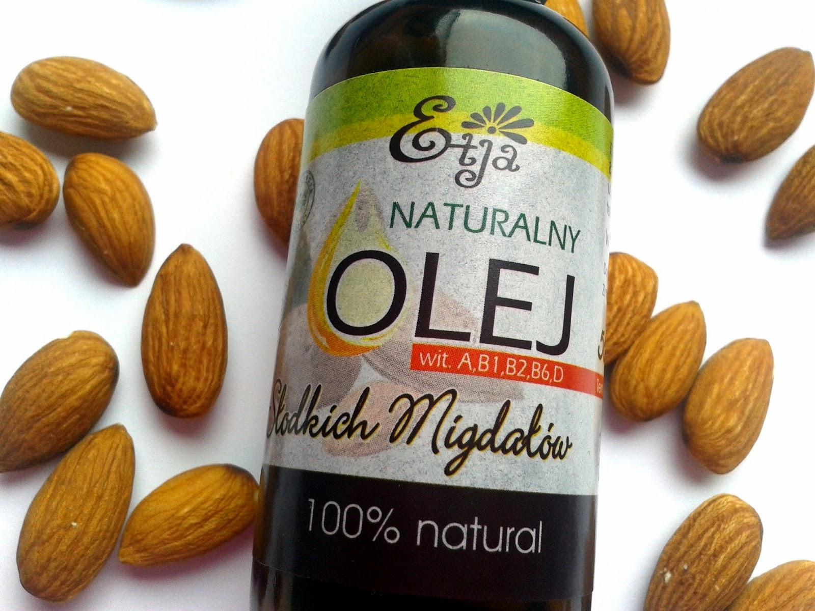 olej ze słodkich migdałów ETJA