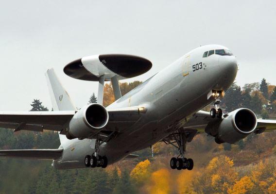 Boeing 737 AEW&C radar