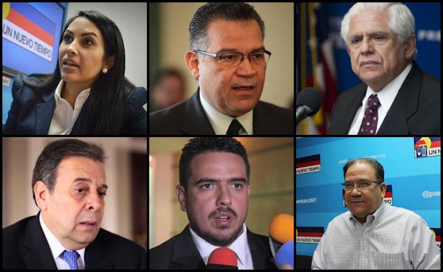 La pelea por la presidencia del Parlamento sacude a UNT y deja a Rosales como el gran elector