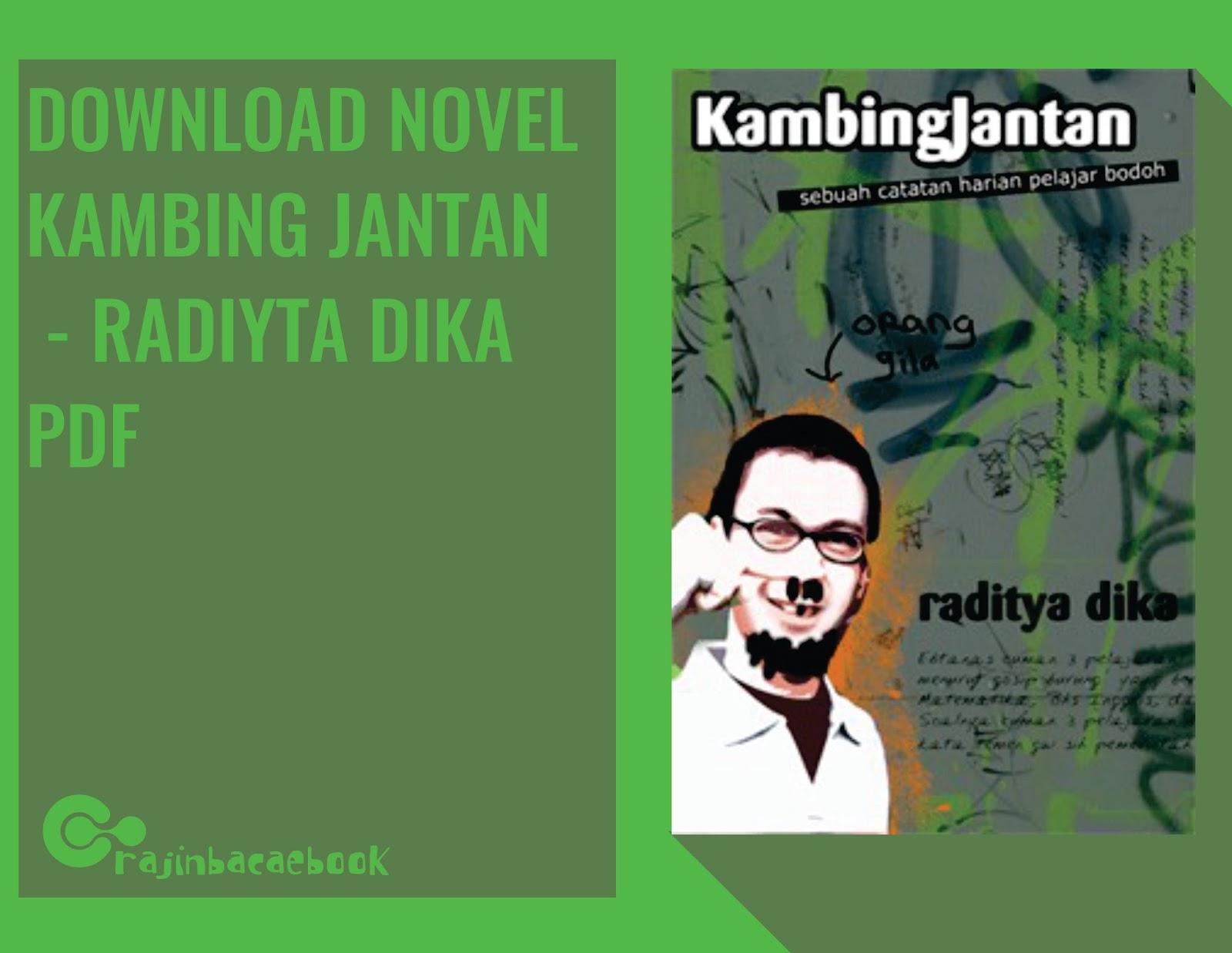 Buku Kambing Jantan Pdf