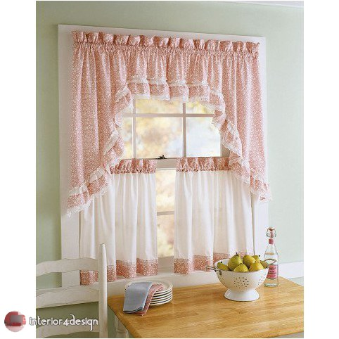 Elegant Kitchen Curtains 16