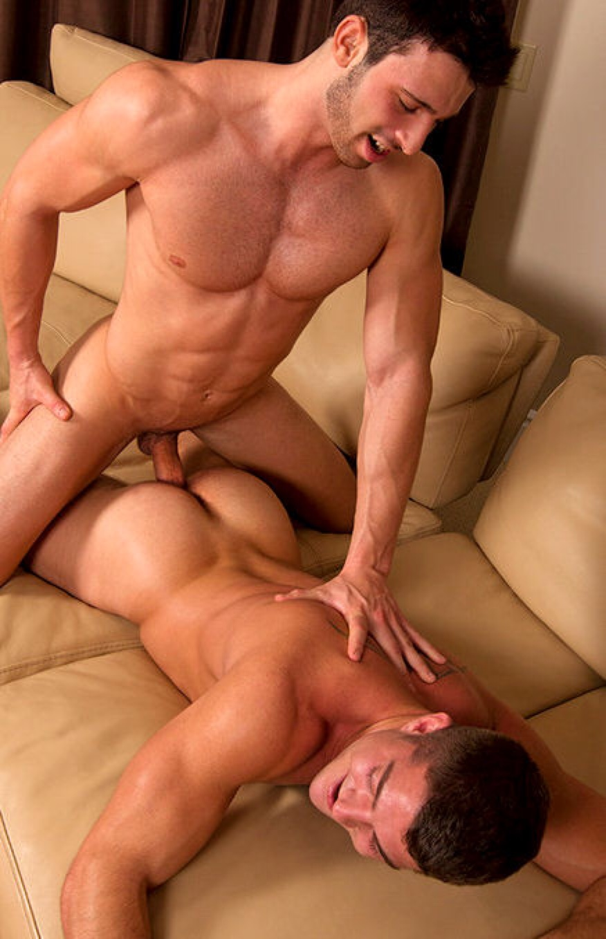 hot oil gay hunk massage with huge cock blowjob in redtube
