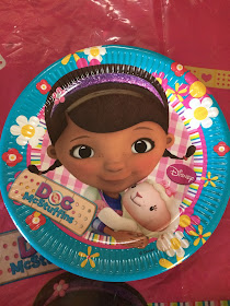paper child party plate