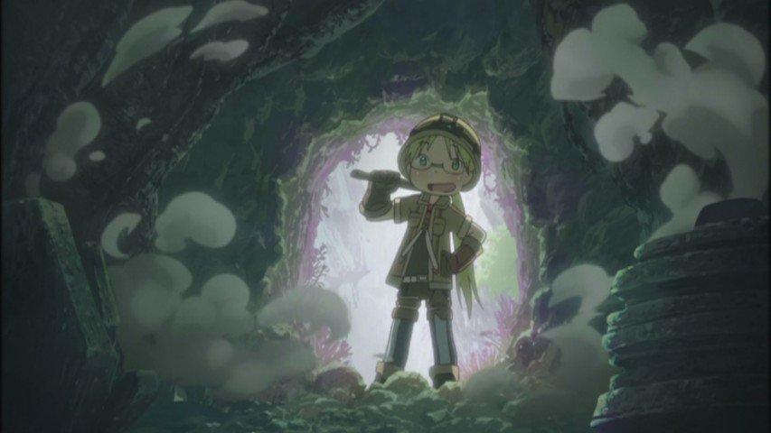 「メイドインアビス」1話(新)感想:女の子が巨大な穴に魅了される!掘られ続けて1900年、未だ最深部まで到達出来ていない!?