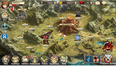 King's Raid MOD APK for Android (Update v2.93.0)