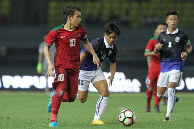 Timnas U-19 Indonesia Taklukkan Kamboja berkat Gol Egy dan Rafli