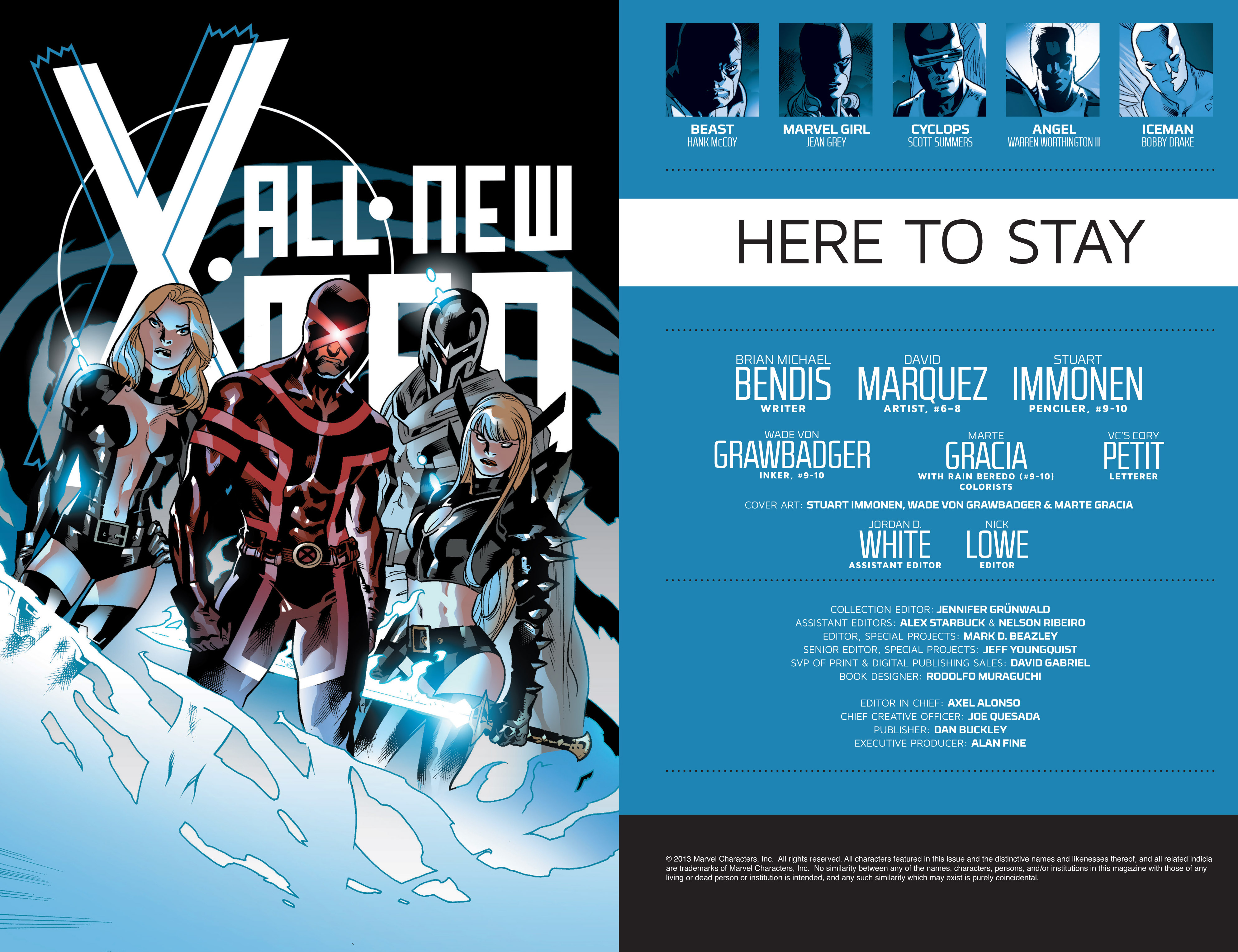 Read online All-New X-Men (2013) comic -  Issue # _Special - Here To Stay - 110