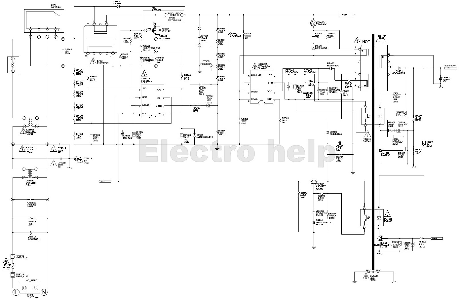 Samsung Bn44 Lcd Power Board Schematic