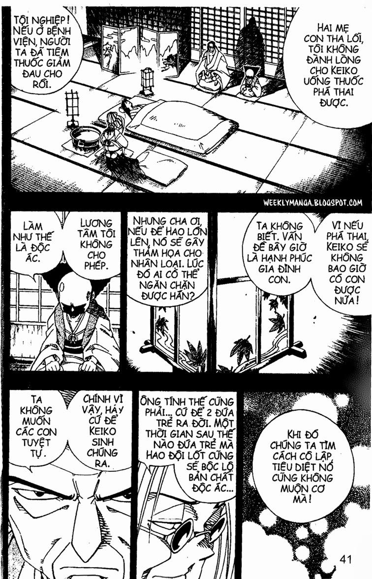 Shaman King [Vua pháp thuật] chap 143 trang 7