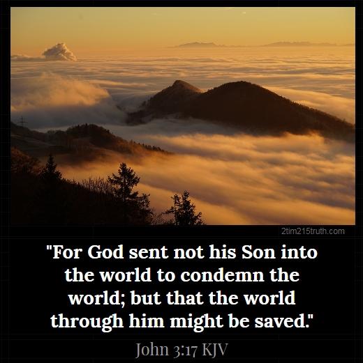 2 Timothy 2:15 Truth: Verse of the Day: John 3:17 KJV