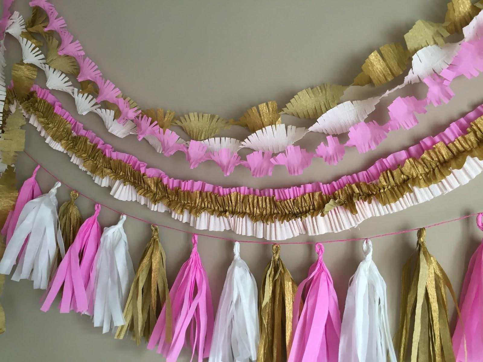 decorar tanto un cumpleaos o fiesta como un dormitorio infantil o cualquier rincn de la casa hoy te muestro cmo hacer 3 modelos de guirnaldas hechas - Hacer Guirnaldas