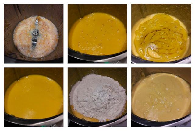 Receta de bizcocho de naranja 02