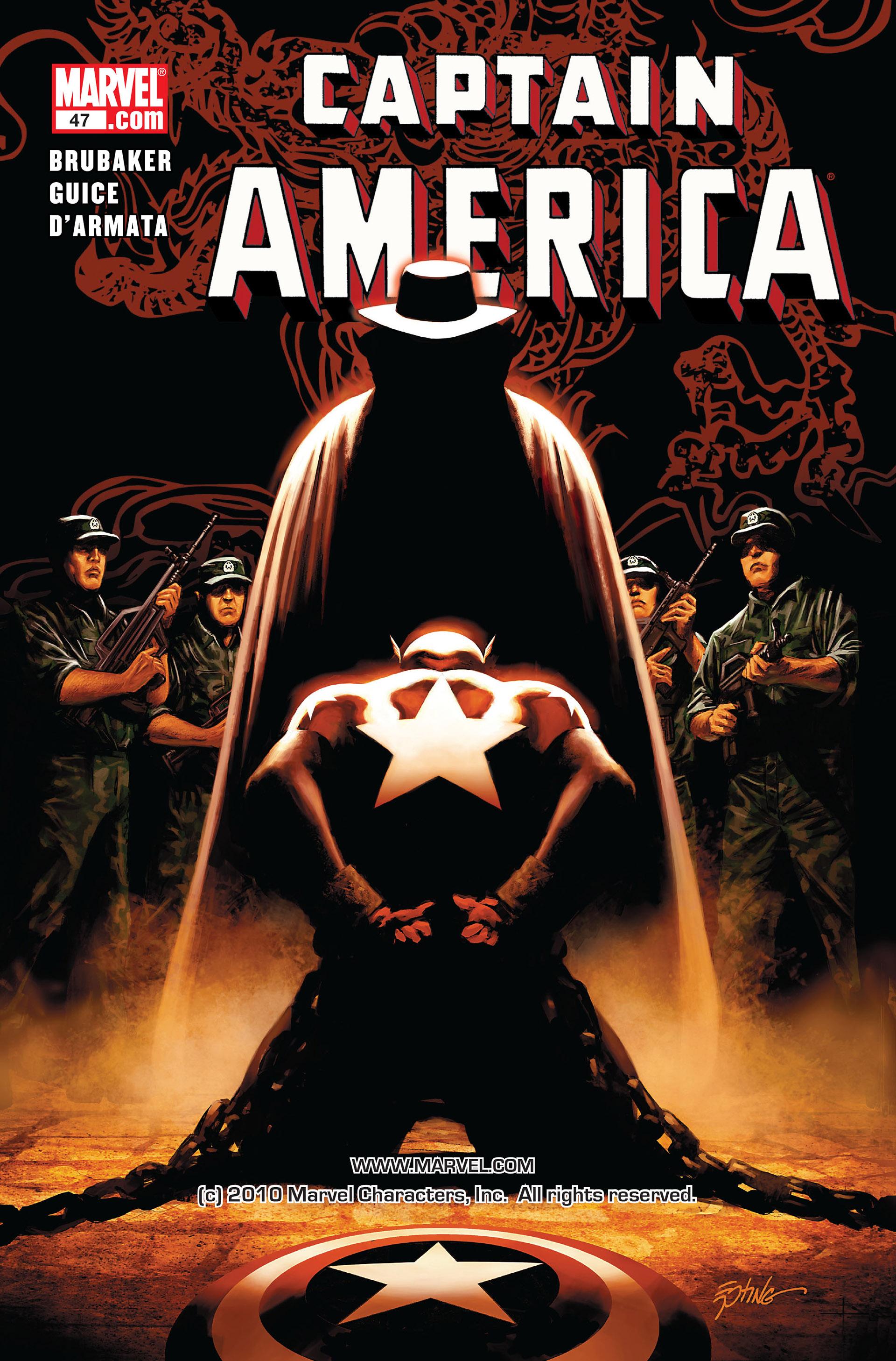 Read online Captain America (2005) comic -  Issue #47 - 1