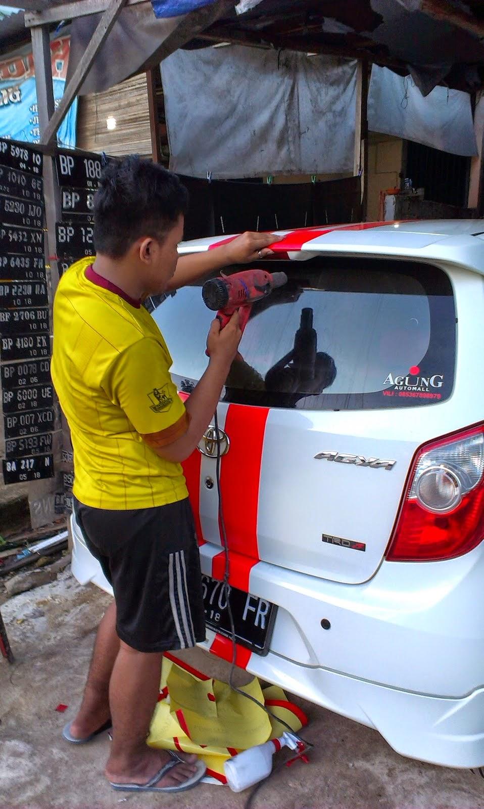Modifikasi Mobil Agya Stiker Terbaru Sobat Modifikasi
