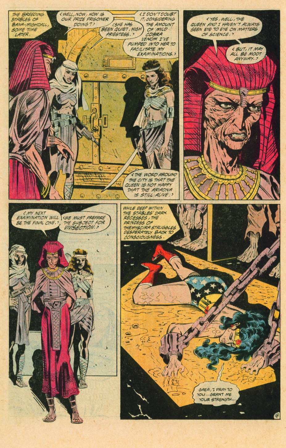 Read online Wonder Woman (1987) comic -  Issue #30 - 20