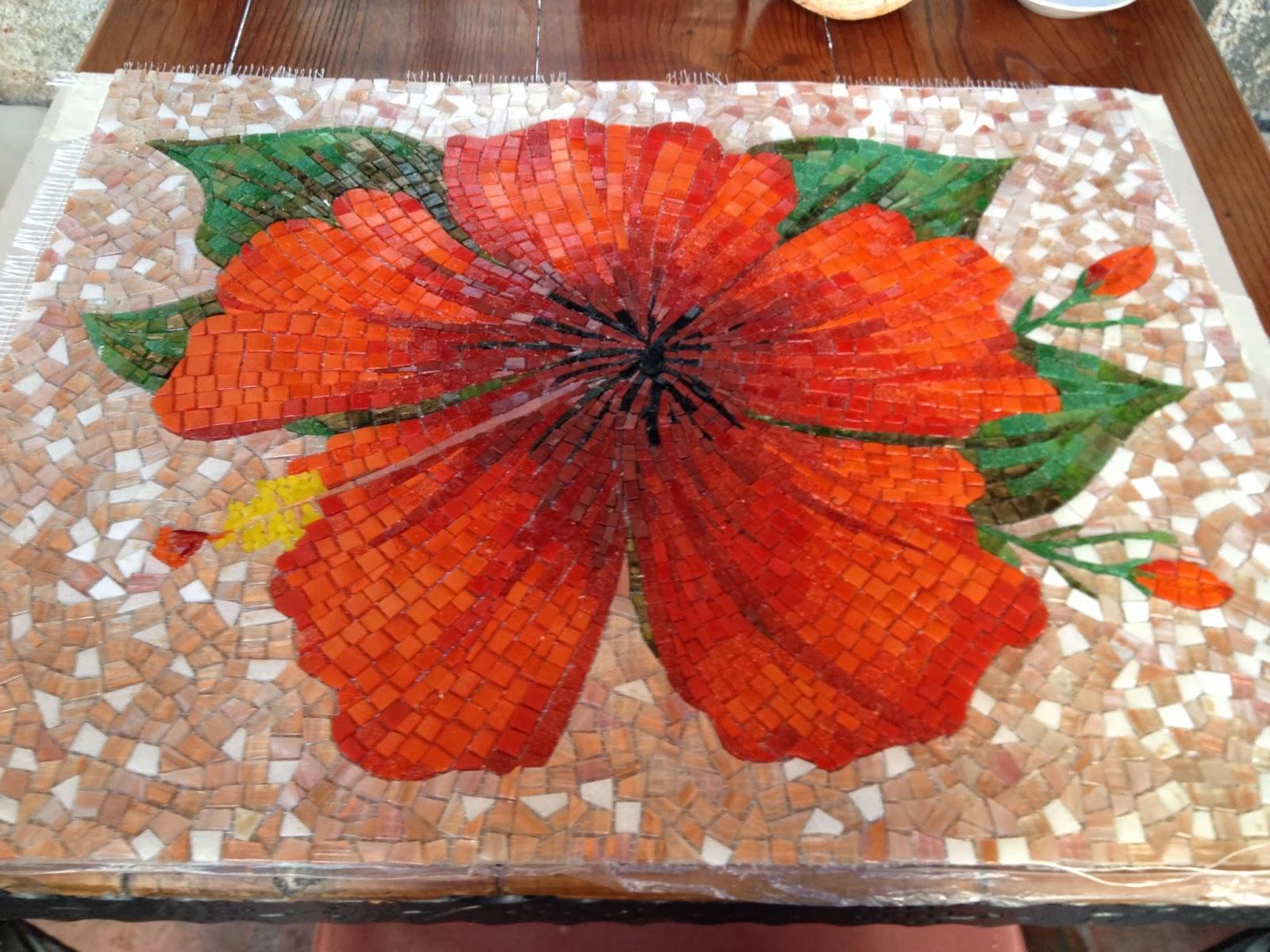 mosaic hibiscus