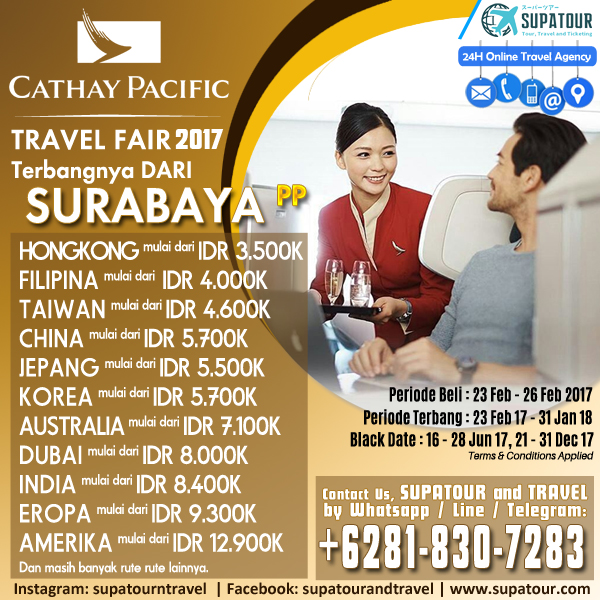 CATHAY TRAVEL FAIR 2017
