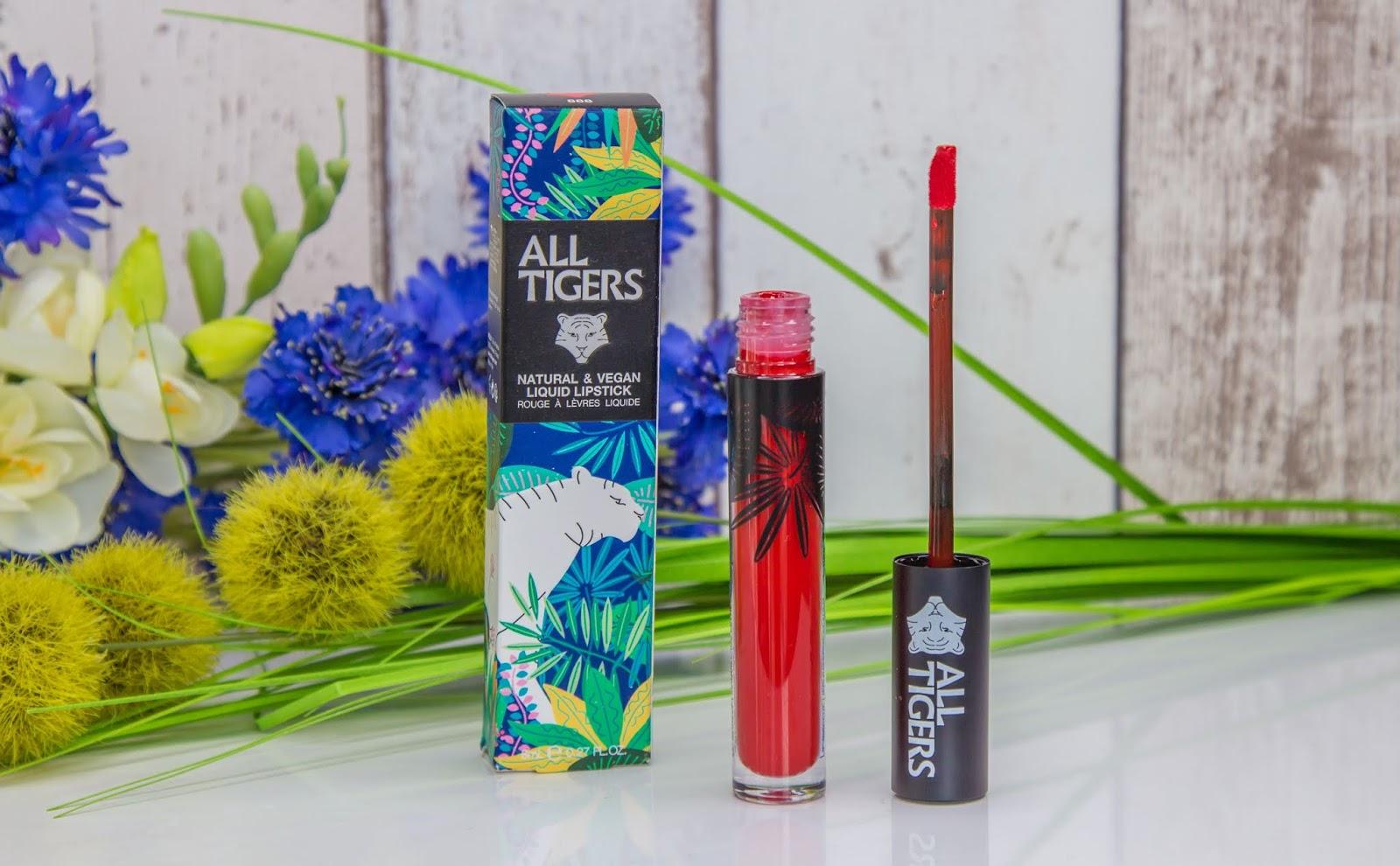 All Tigers, les rouges à lèvres liquides naturels et vegans