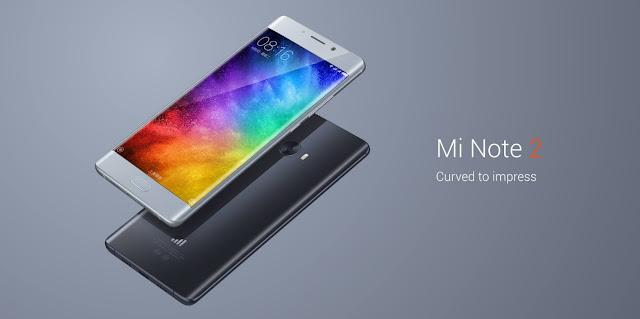 Spesifikasi dan Harga Xiaomi Mi Note 2