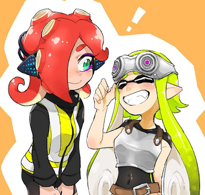 Octoling and Inkling