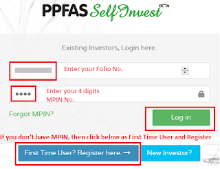 PPFAS Mutual Fund Account Statement