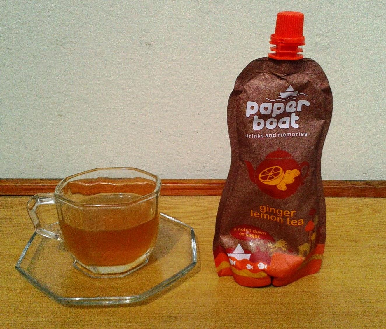 Paper Boat Ginger Lemon Tea