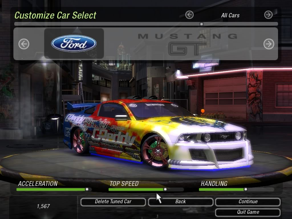 Click to see world need for speed underground 2 mustang - Need for speed underground 1 wallpaper ...