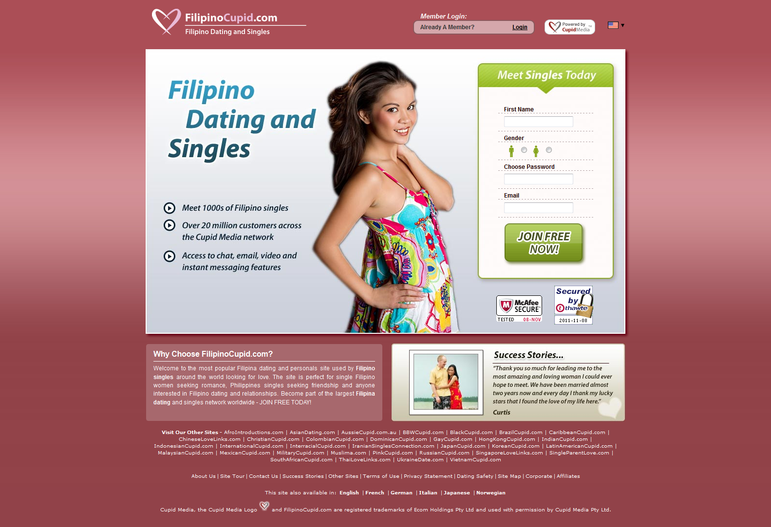 Filipina dating cupid