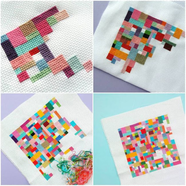 http://bugsandfishes.blogspot.com/2018/06/scrappy-patchwork-cross-stitch-leftover-threads.html