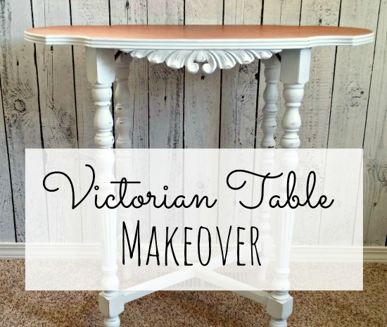 Victorian table makeover