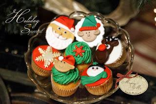 Χριστουγεννιάτικα γλυκάκια και όποιος αντέξει από την Mommy's Cake