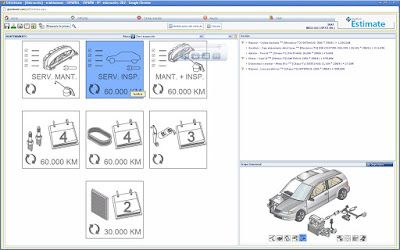 Imagen del software de valoración GT Motive Estimate