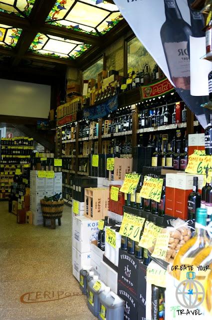 sklep z winami porto